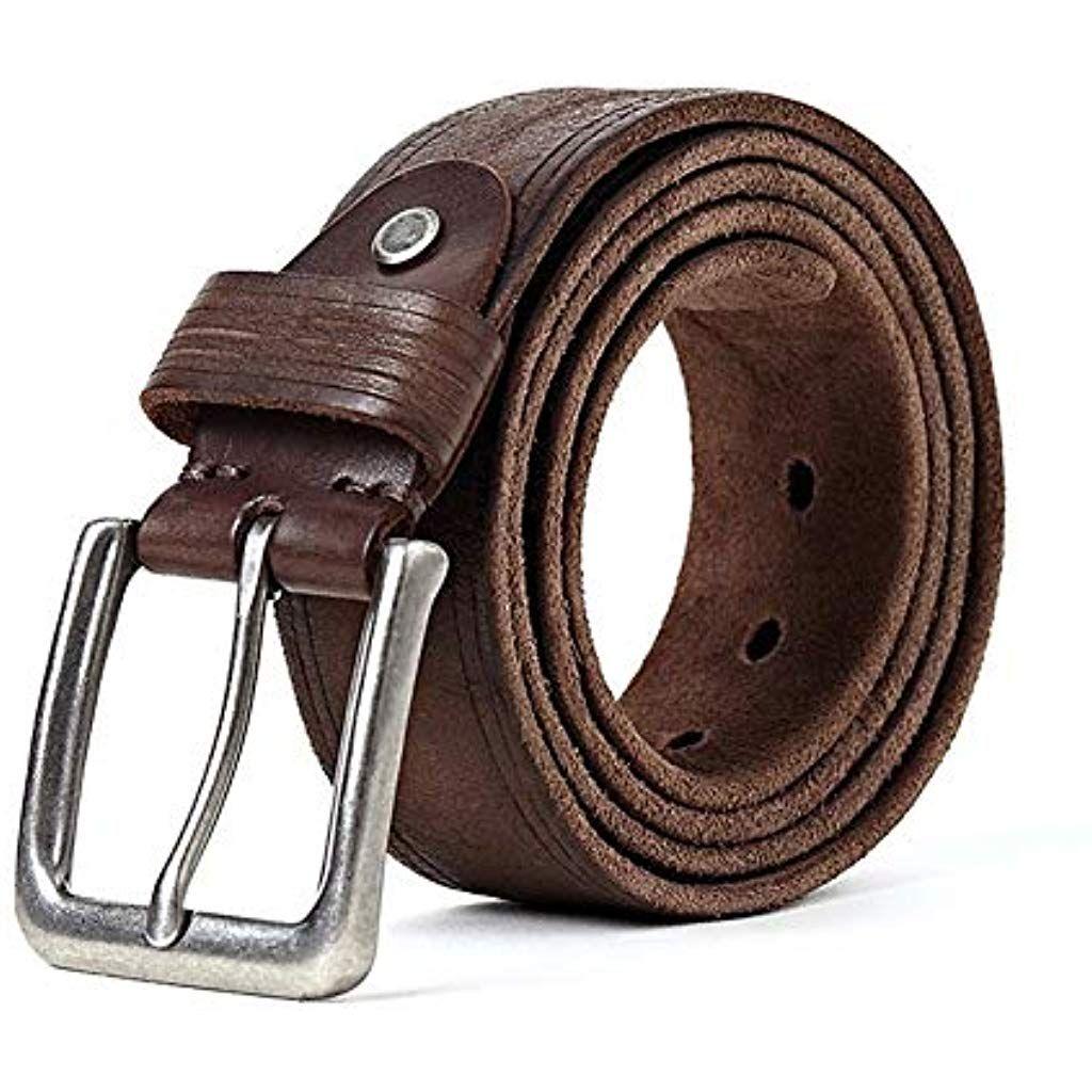 arrivato nuovi arrivi cercare Txrh Cintura Cinghia degli Uomini Cinghia di Cuoio di Cintura ...