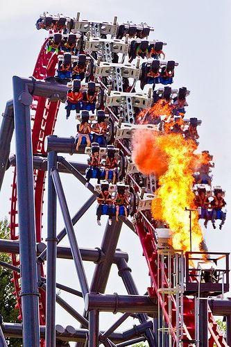 X2 Six Flags Magic Mountain Los Angeles California Usa Scary Roller Coasters New Roller Coaster Amusement Park Rides