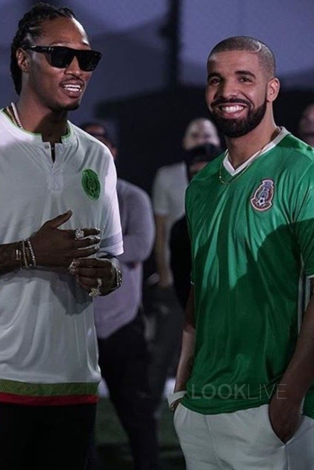 Drake In Used To This Ft Drake On Looklive Jersey Outfit Soccer Outfit Football Fashion