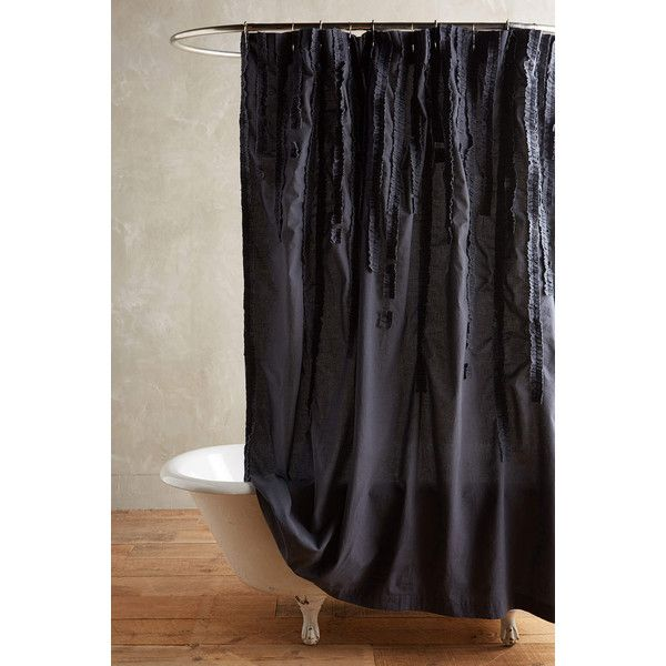 Draped Wisteria Shower Curtain 98 Liked On Polyvore Featuring Home Bed