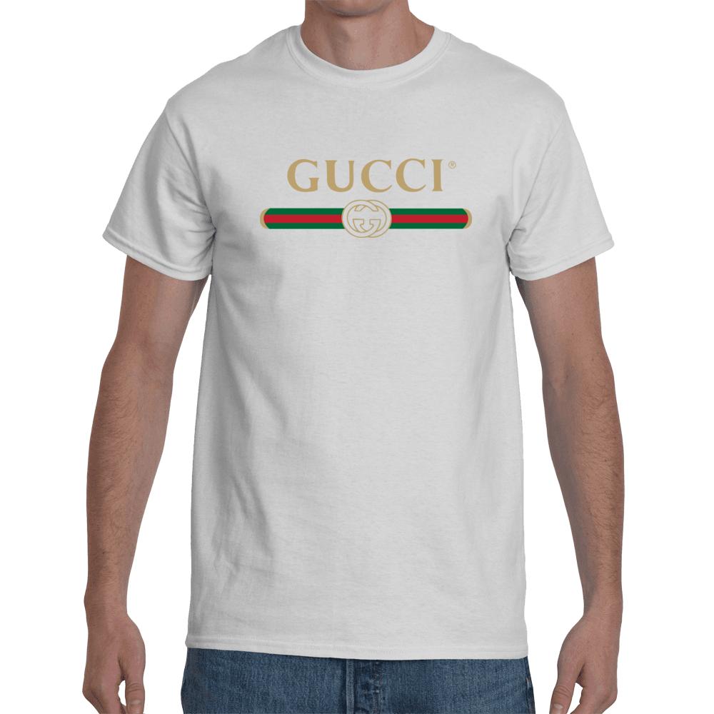 af165448 Gucci Logo 2019 Men's T-Shirt | Gucci | Gucci shirts men, Gucci ...