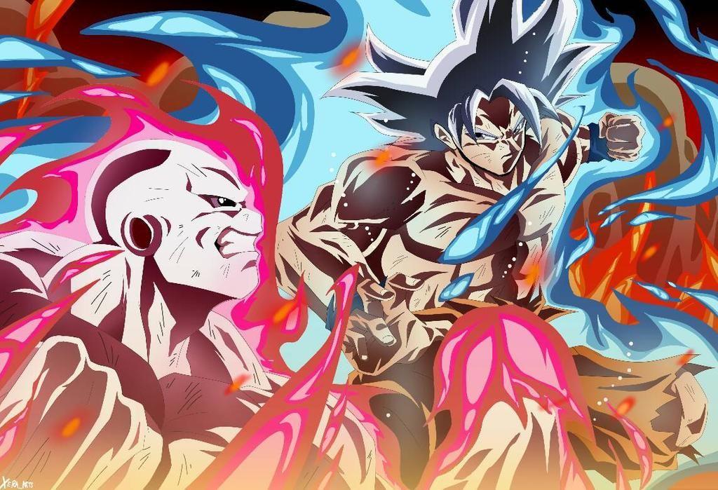 Goku V Jiren By Xeraarts On Deviantart Anime Dragon Ball Super Dragon Ball Super Artwork Dragon Ball Super Manga