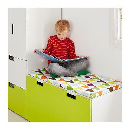 vissla zitkussen voor bank ikea maakt van een bank een zachte comfortabele zitplaats zeer. Black Bedroom Furniture Sets. Home Design Ideas