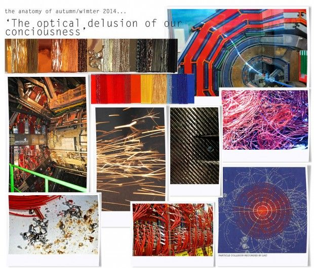 Mood board, optical delusion