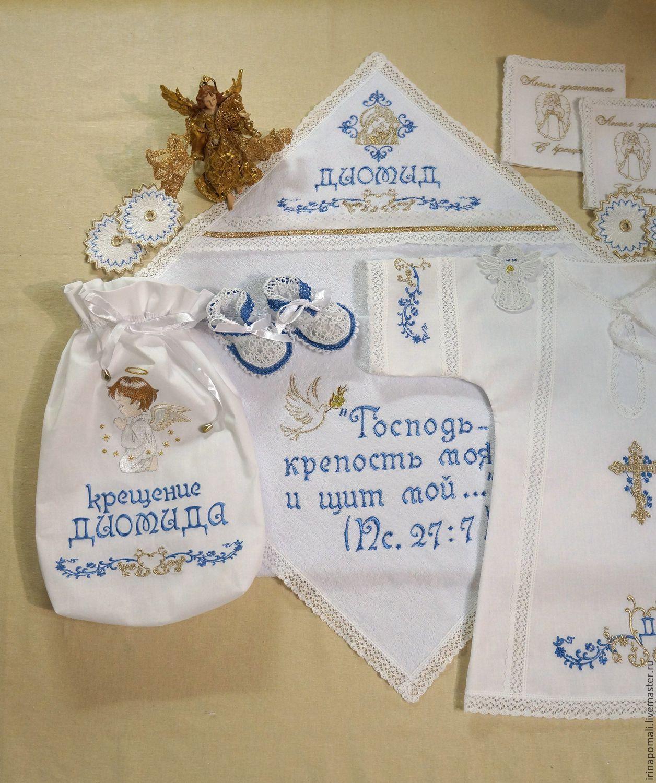 схема вышивка для крестильной рубахи