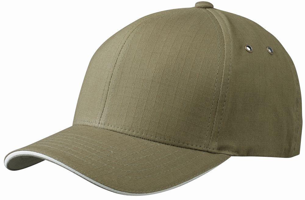 Подсилена Flexfit® шапка с контрастираща козирка