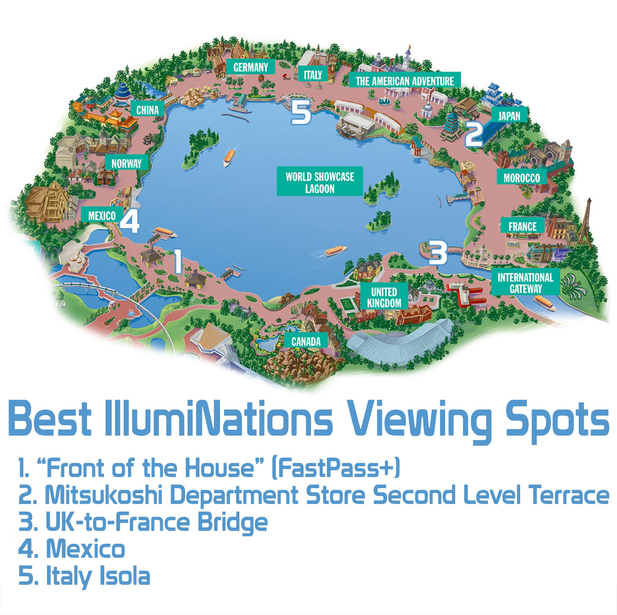 Best illuminations viewing spots epcot articles and disney trips best illuminations viewing spots disney tourist blog gumiabroncs