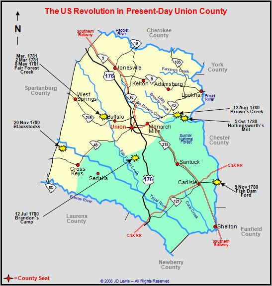 South Carolina in the American Revolution - Enements in ... on map of preble county, map of du page county, map of gilmer county, map of yazoo county, map of juniata county, map of woodford county, map of white county, map of greenwood county, map of banks county, map of clarke county, map of alexander county, map of glades county, map of iron county, map of saint clair county, map of roane county, map of crittenden county, map of stone county, map of essex county, map of rockbridge county, map of noble county,