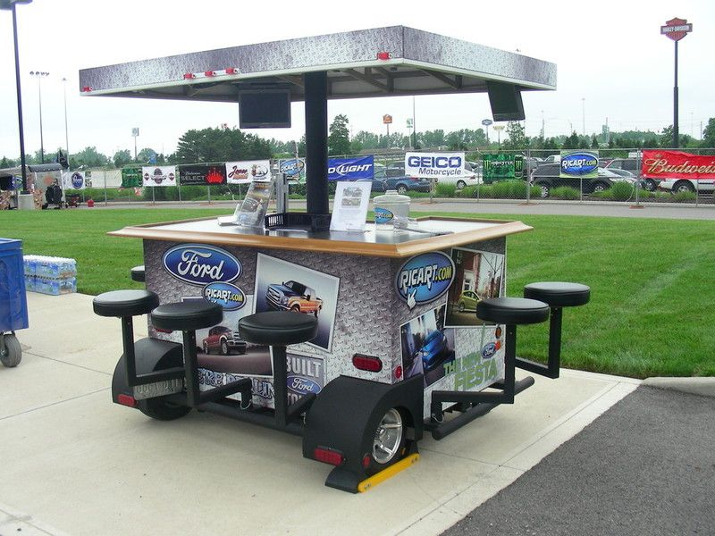 Have bars will travel gallery tailgating pinterest for Food truck bar