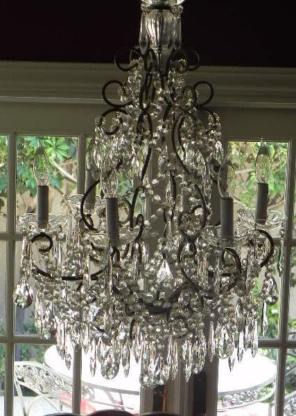Gorgeous chandelier for a entrance or stair landing house of eden gorgeous chandelier for a entrance or stair landing aloadofball Images
