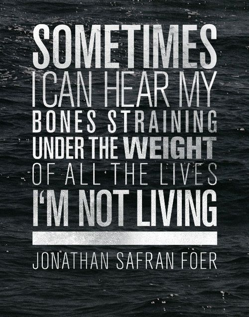 Of The Most Beautiful Sentences In Literature Jonathan Safran - Sentences might 5 words long will chill bone