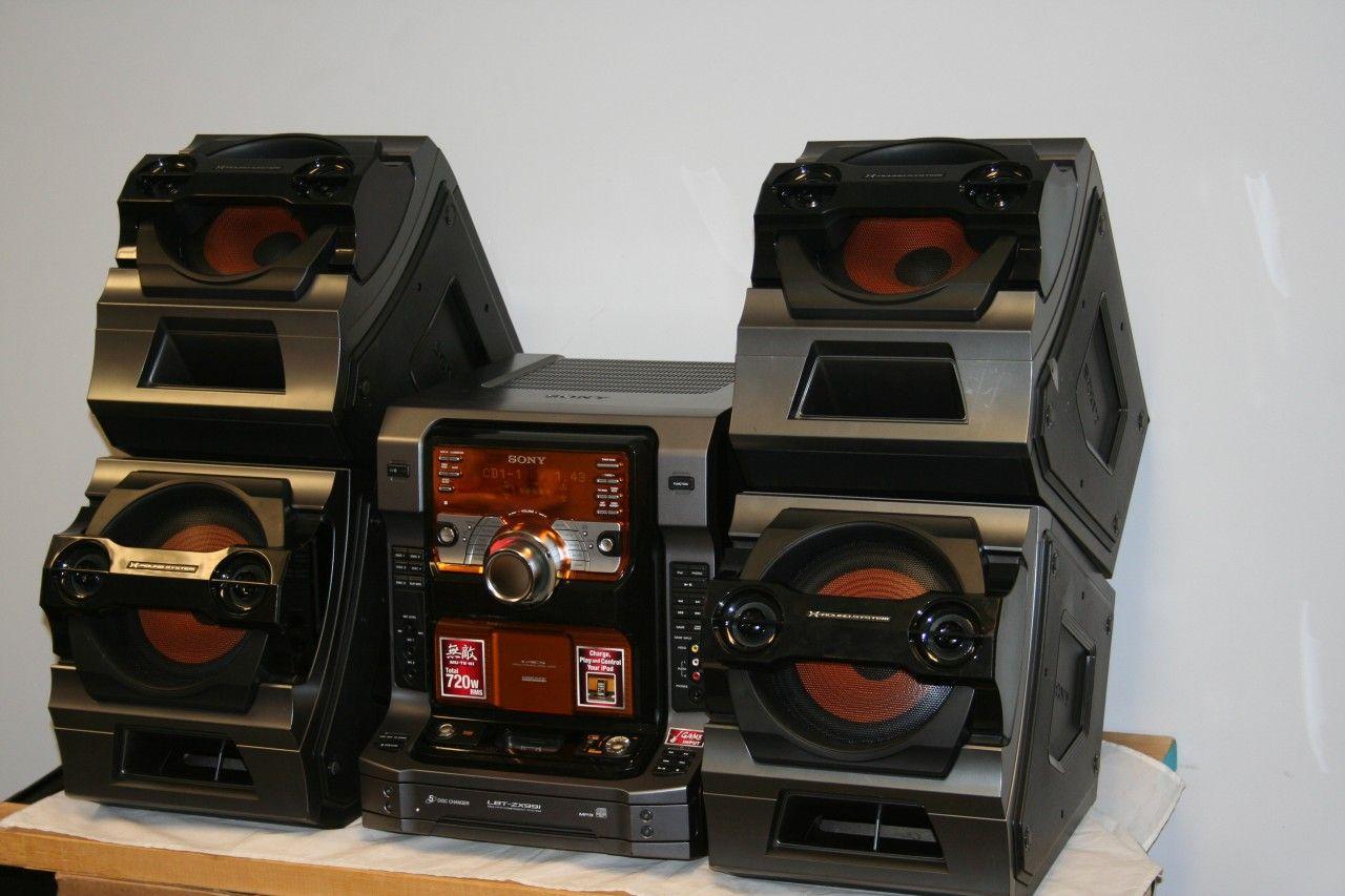 Sony Muteki Hi Fi Music System Lbt Zx99i Sony Mini