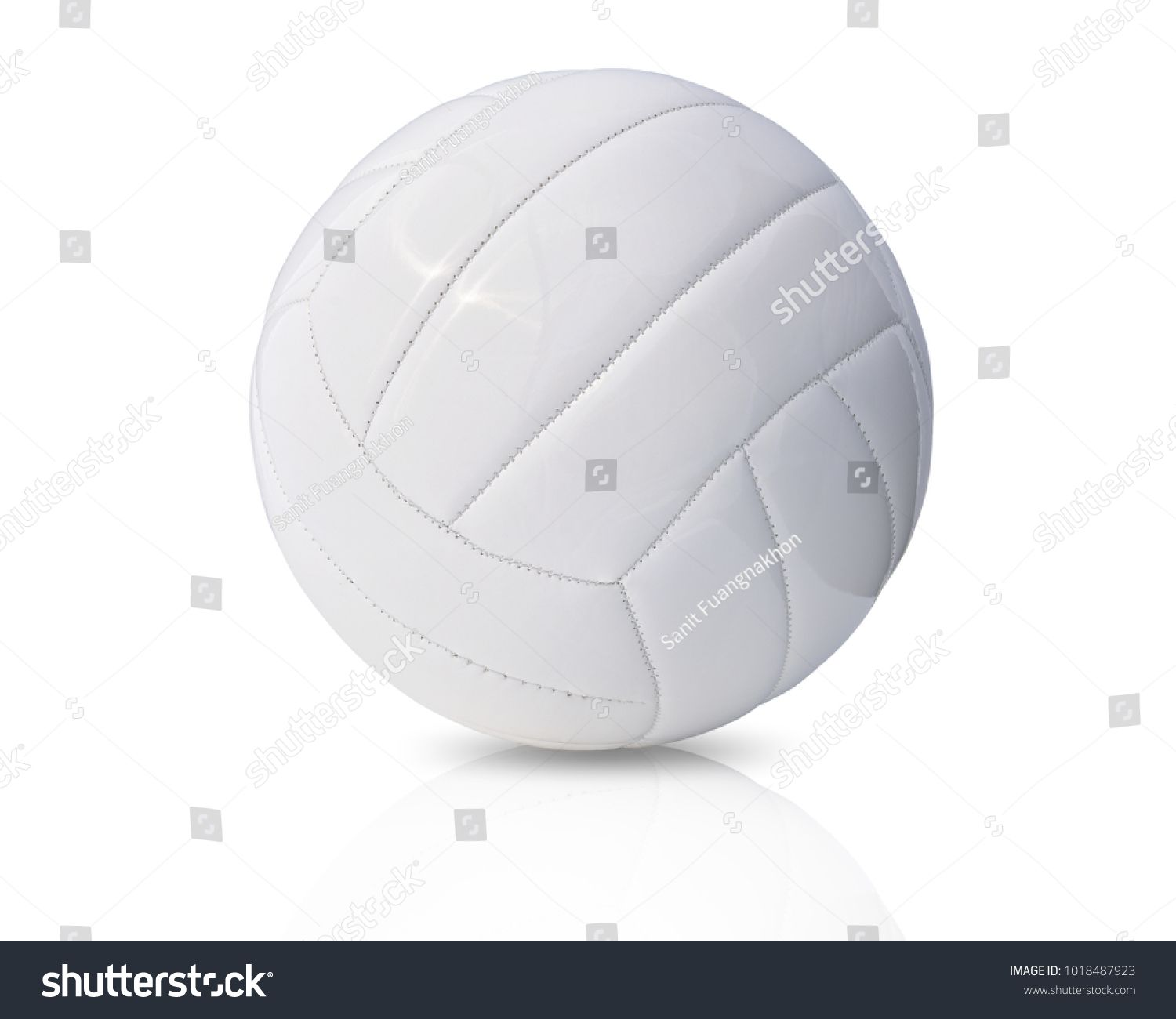 White Leather Volleyball Isolated On White Background This Has Clipping Path Ad Sponsored Volleyball Isolated White Le White Leather Leather Volleyball