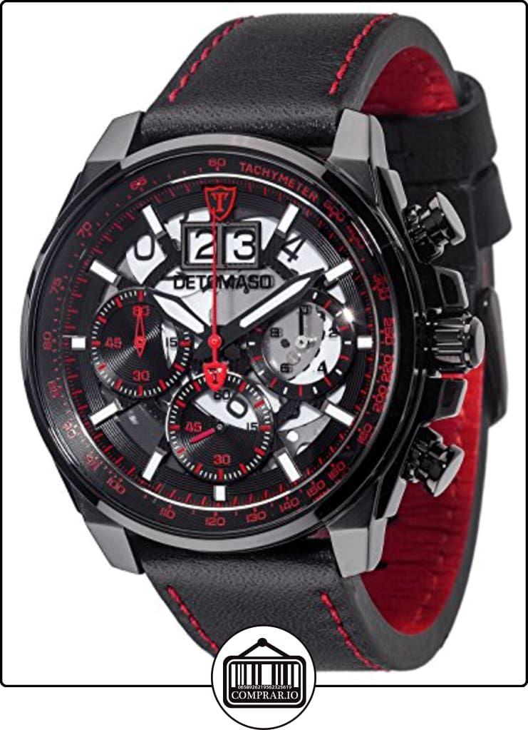 581612b970c6 Detomaso Livello XXL - Reloj de cuarzo para hombres