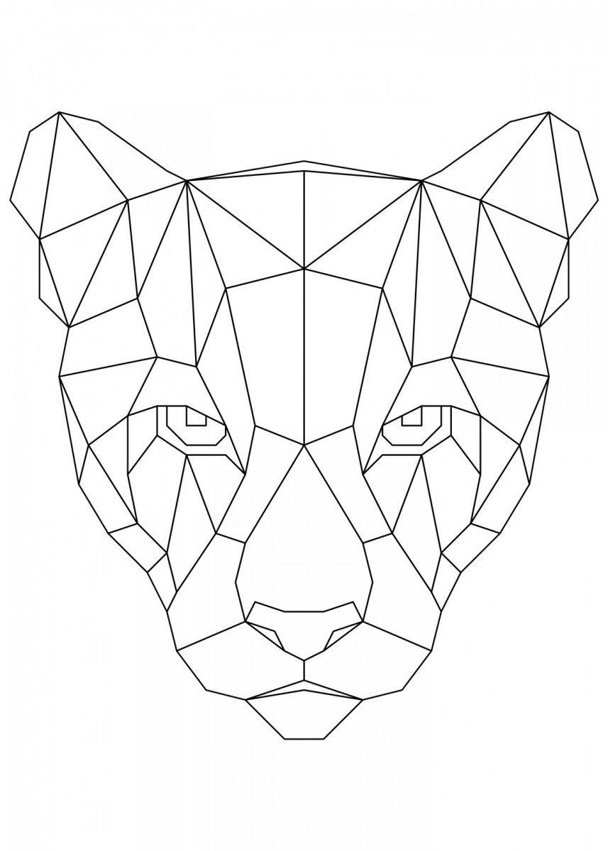 Gratis Malvorlage A4 Puma  Disegni Da Colorare Disegni Da