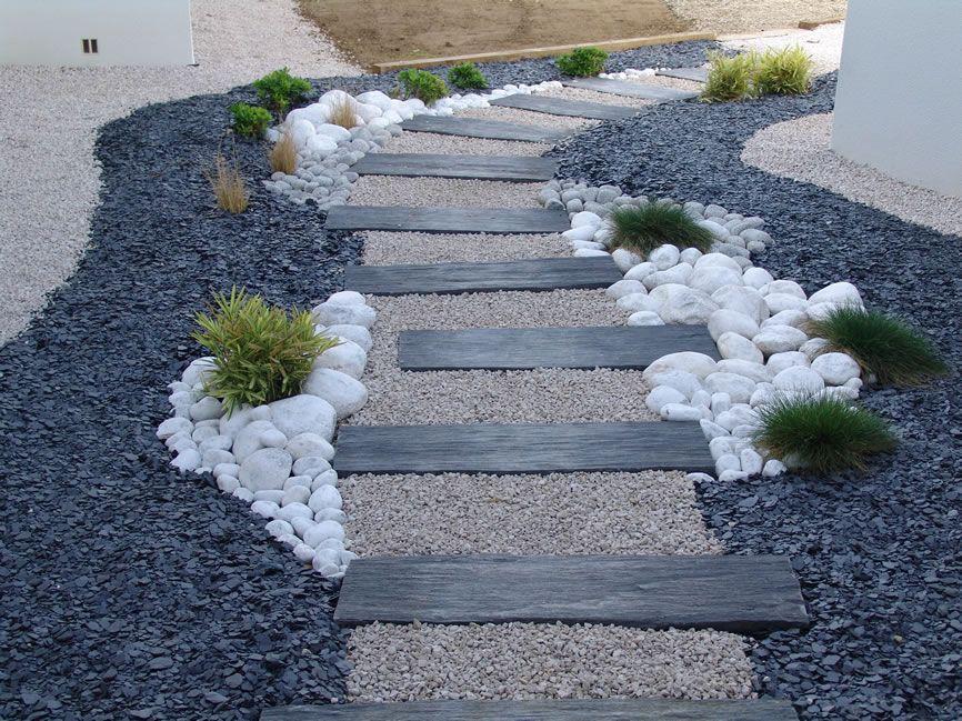 Decorer Son Jardin Avec Des Pierres 1 Dalles Galets Et Dalles