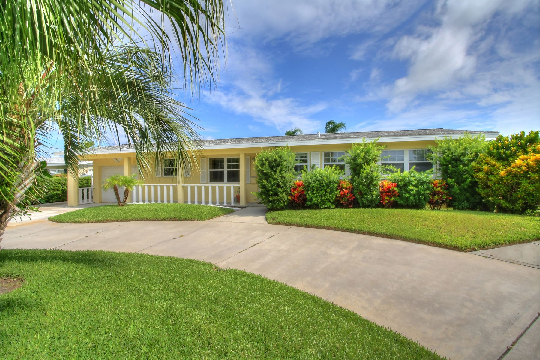 Beachside canal house not listed in mls per seller