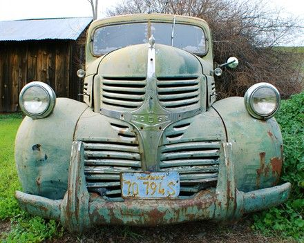 old dodge truck by nickton