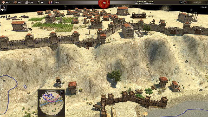 0 A.D. is a Free, OpenSource, Historical Real Time