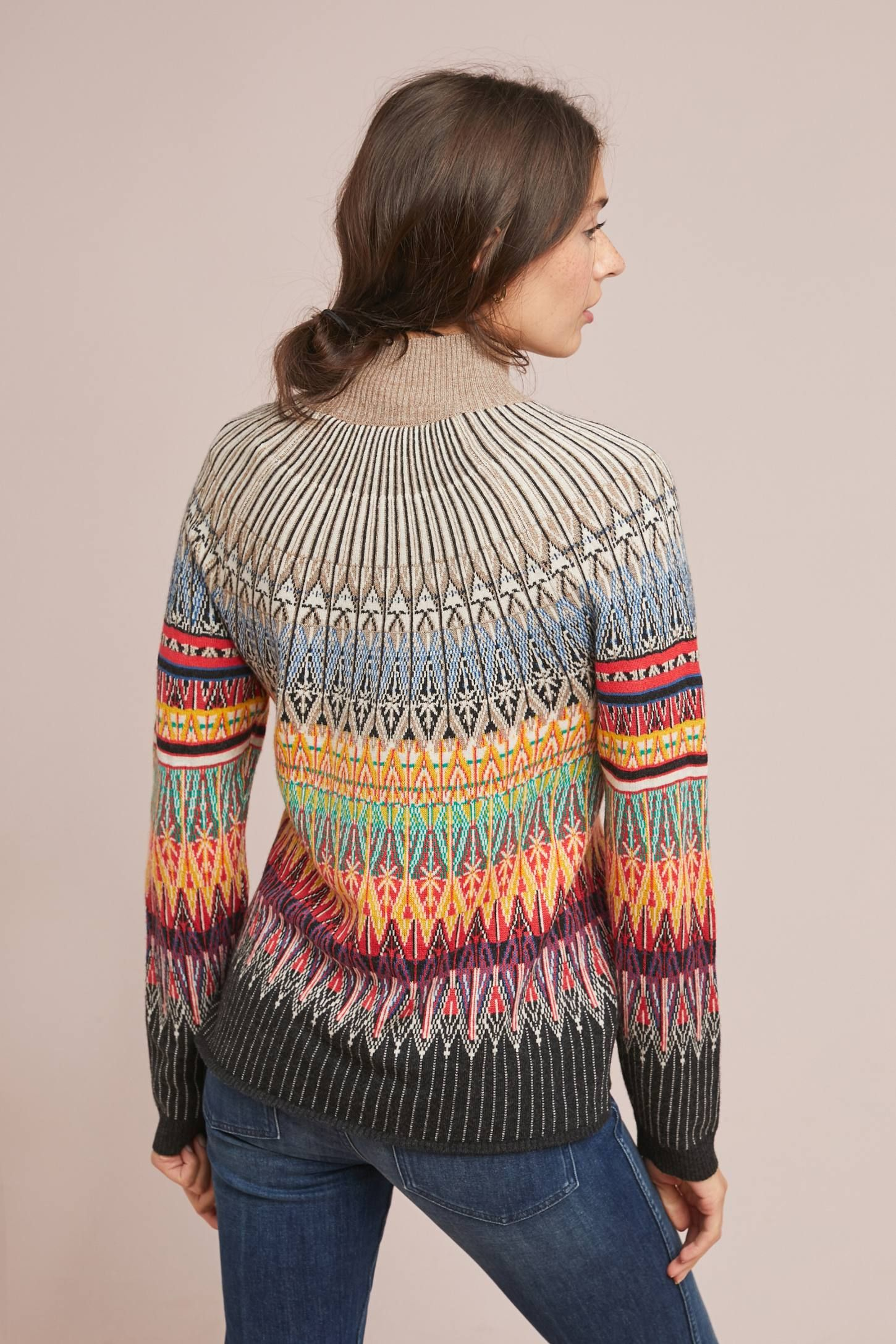 ecb54244e Prismatic Fair Isle Sweater