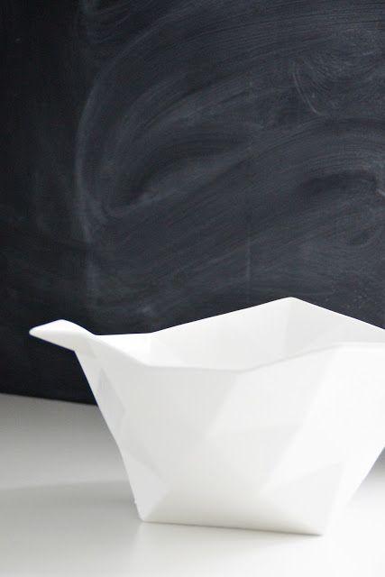 Via Svenngården   Muuto Crushed Bowl   Chalkboard