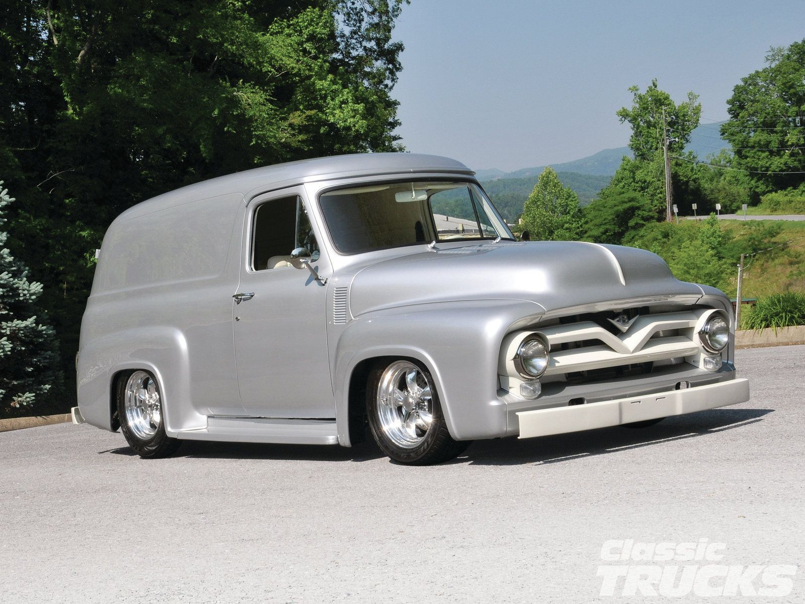 1955 #Ford Panel #Truck: The Rest Of The Story - The Story in the ...