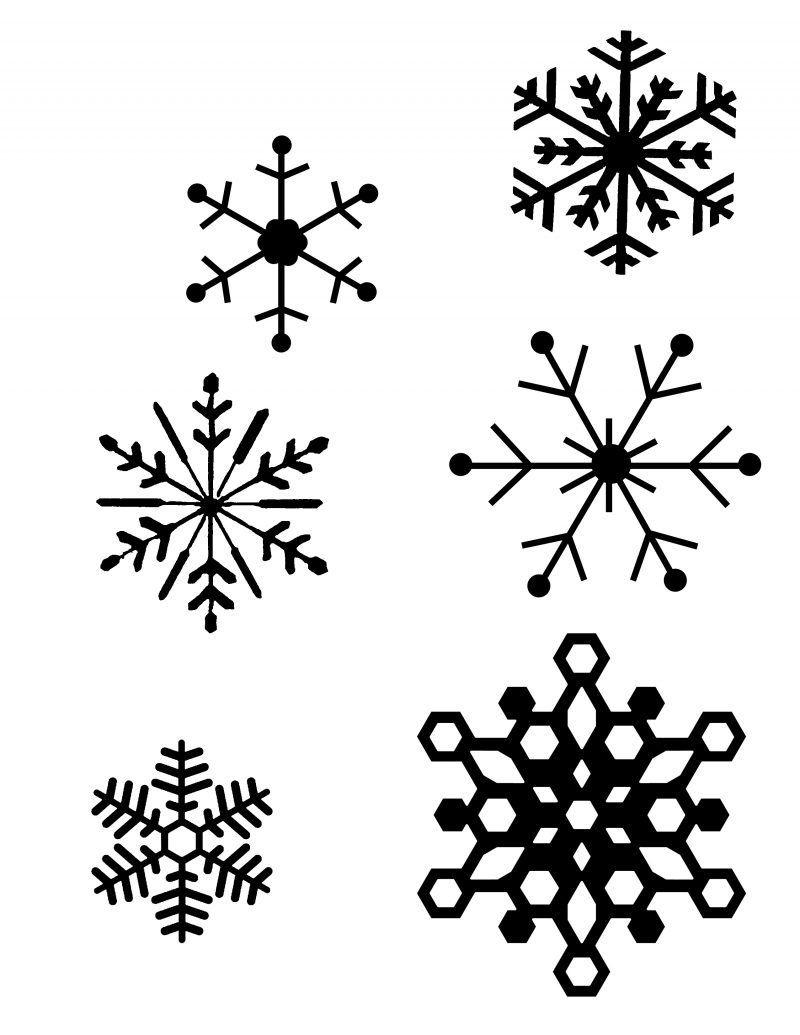 Basteln Mit Kindern 17 Fensterbilder Und Malvorlagen Fur Weihnachten Diy Weihnachtsdeko Ideen Zenideen Diy Schneeflocken Weihnachtsvorlagen Fensterbilder Weihnachten