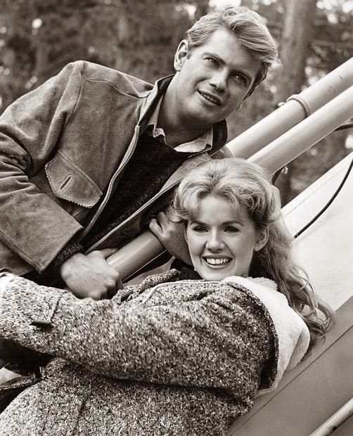 Connie Stevens y Troy Donahue (1936+2001)