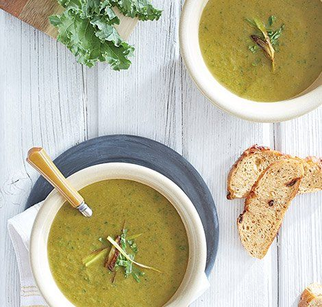 Winter Greens Soup Vitamix Vitamix Recipes Vegan Detox Recipes Green Soup