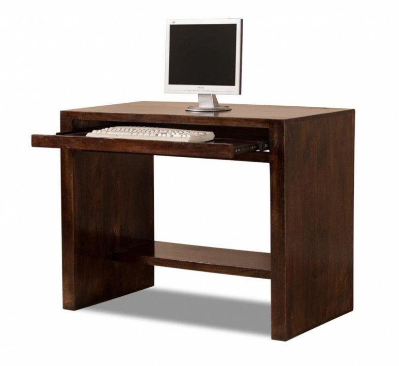 Small Dark Wood Computer Desk Best Ergonomic Desk Chair