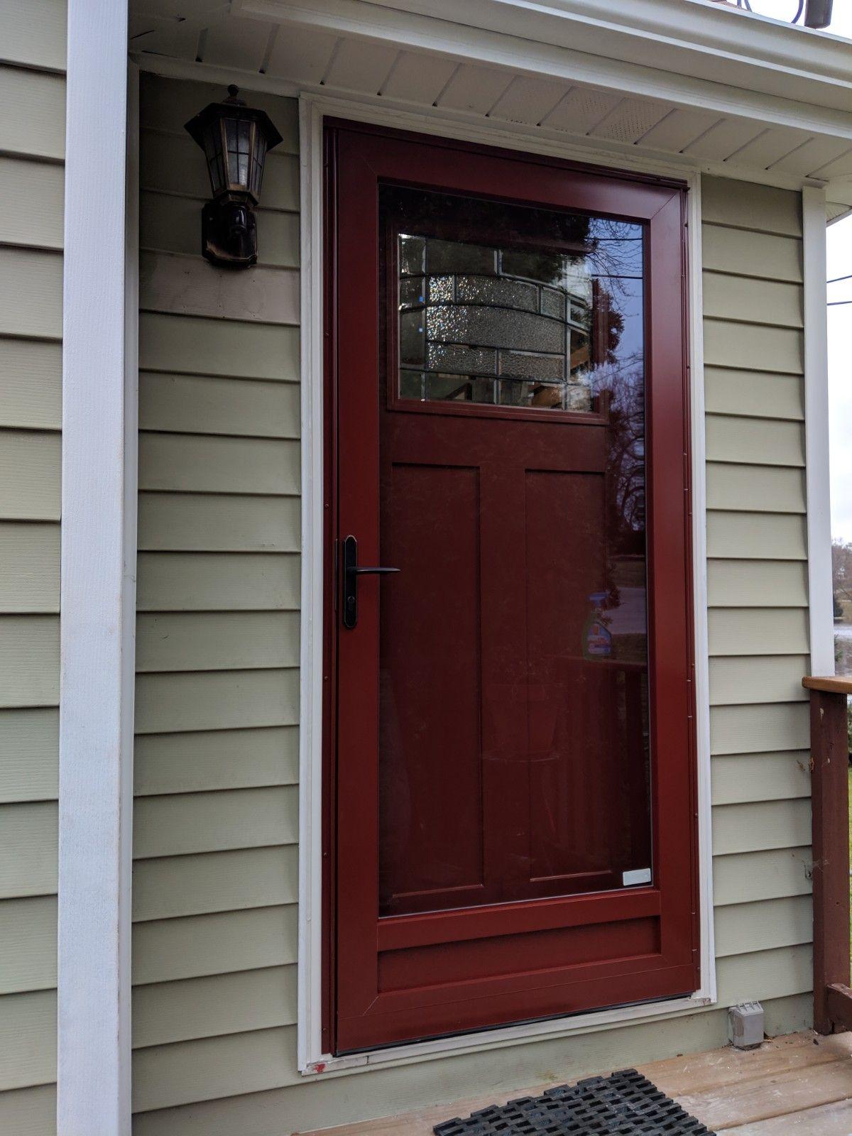 Casco Full View Storm Door Manufactured In South Elgin Il Windows Doors Doors Full View Storm Door