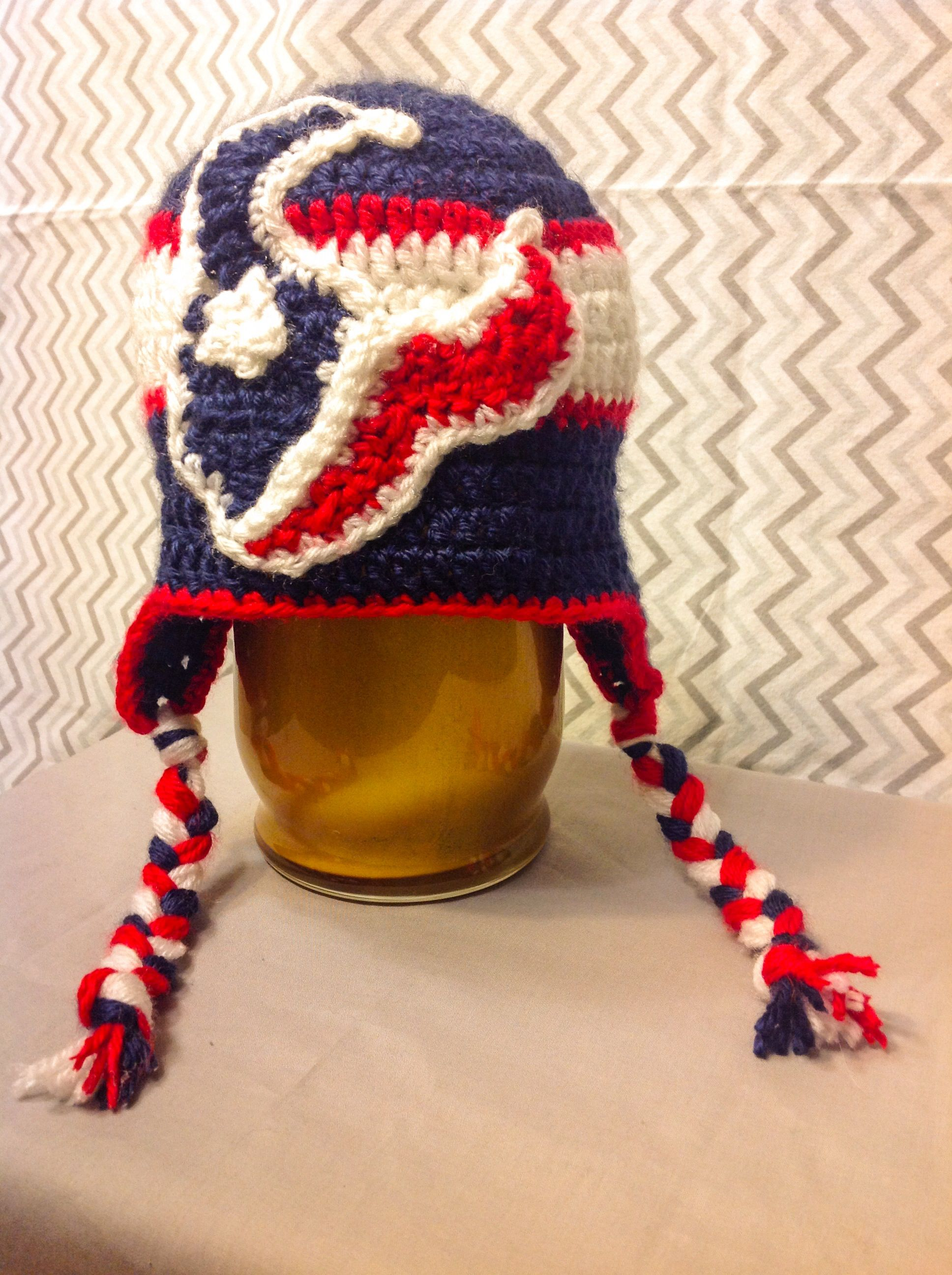 Houston Texans Crochet Beanie  a82a1929d