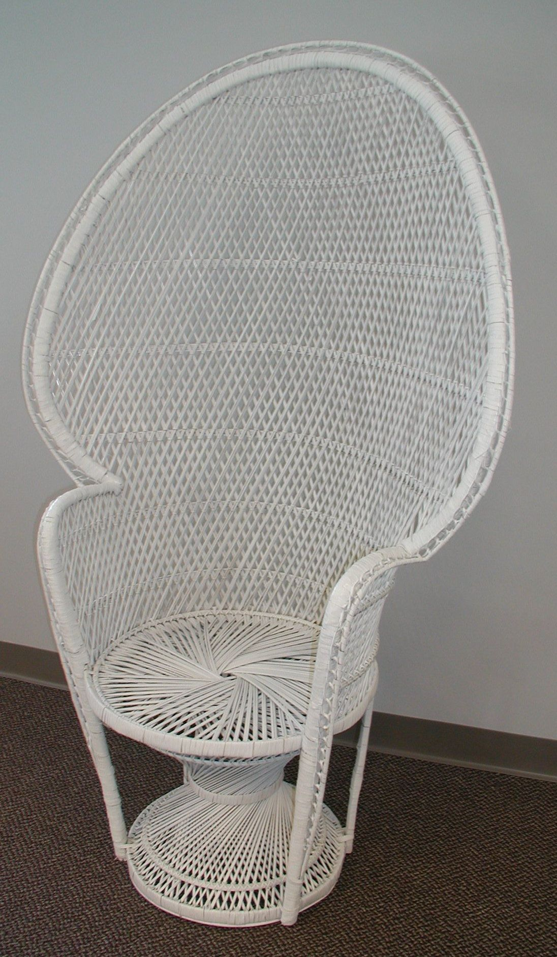 Superior Shown Is Our Wicker High Back Chair. It Would Be A Perfect Addition To Your