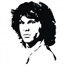 Black and white vector portrait of the famous The Doors singer poet and songwriter Jim  sc 1 st  Pinterest & Black and white vector portrait of the famous The Doors singer poet ...