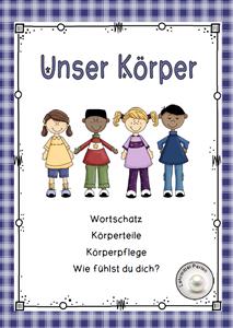 Koerper Wortschatz T Körper vorschule