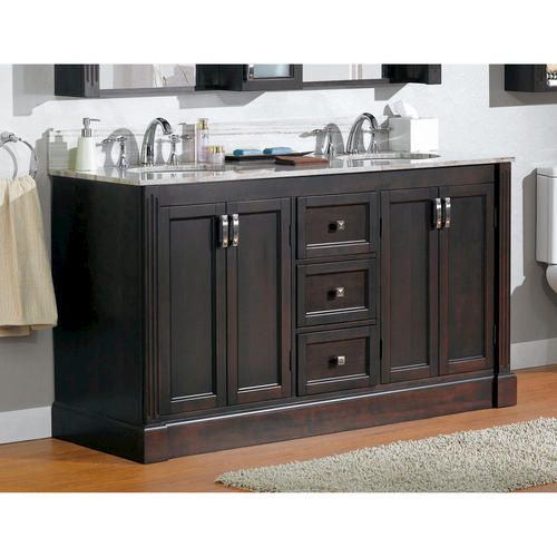 """***Magick Woods 61"""" Wellington Collection Vanity Base at ..."""
