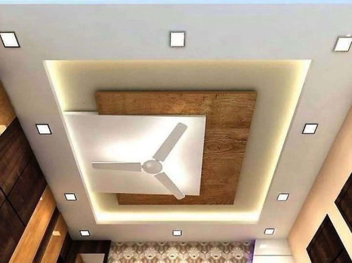 46 Awesome Modern Mid Century Kitchen Remodel Ideas In 2020 Ceiling Design Living Room Ceiling Design Modern Drawing Room Ceiling Design