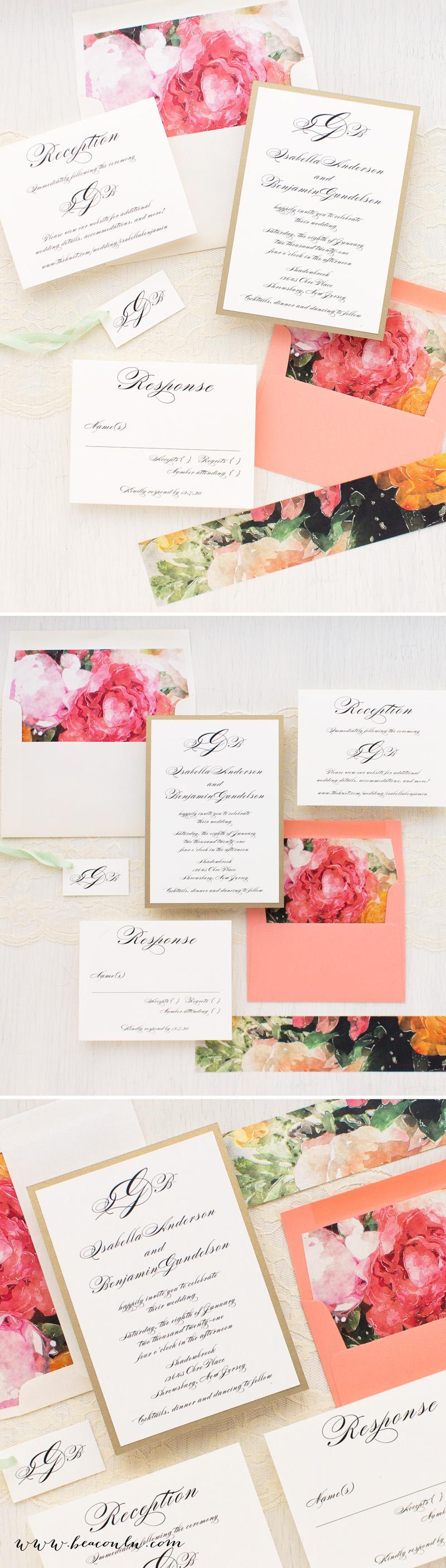 Pink Petals Wedding Invitations | Pinterest | Pink petals, Wedding ...