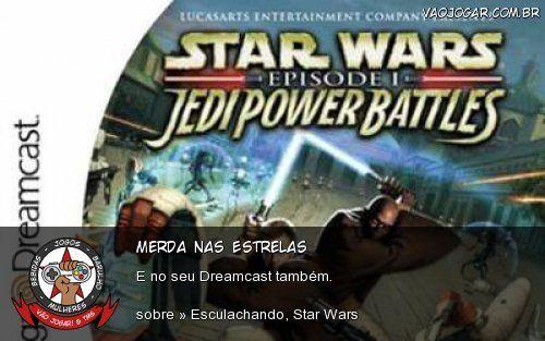 Merda Nas Estrelas - E no seu Dreamcast também.