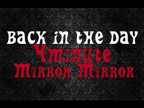 #4minute - Mirror Mirror (거울아거울아) #MV #Reaction (뮤직비디오)(반응) #Grissle Edition
