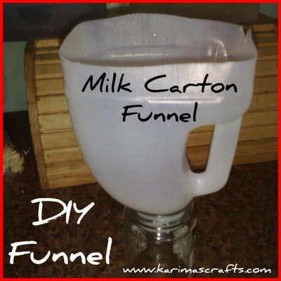 Easy Peasy Funnel Things To Try Plastic Jugs Plastic