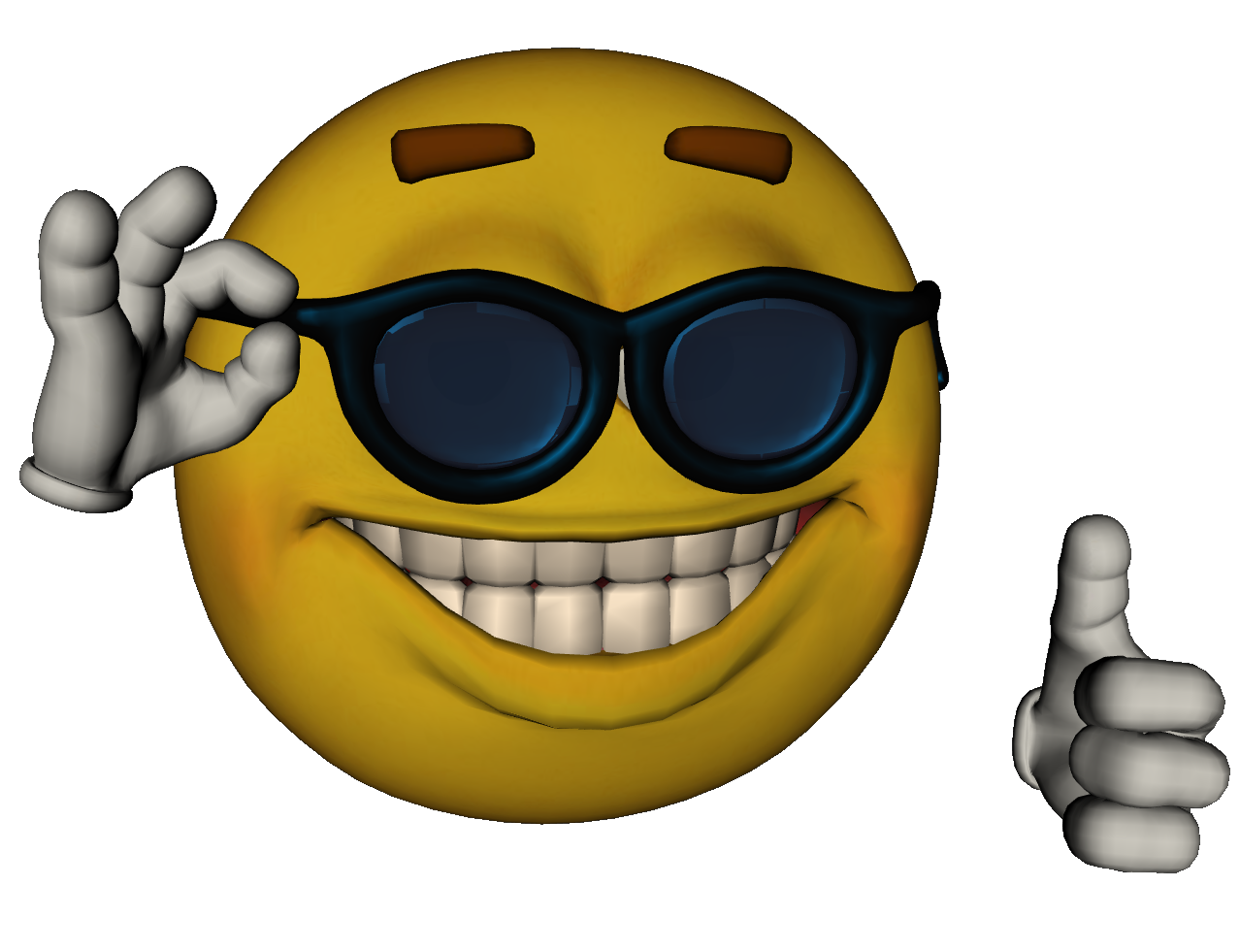 high quality version Yellow smiley face, Emoticon, Smiley