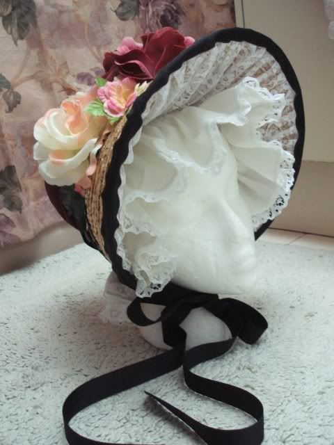 A Regency Style hat I made