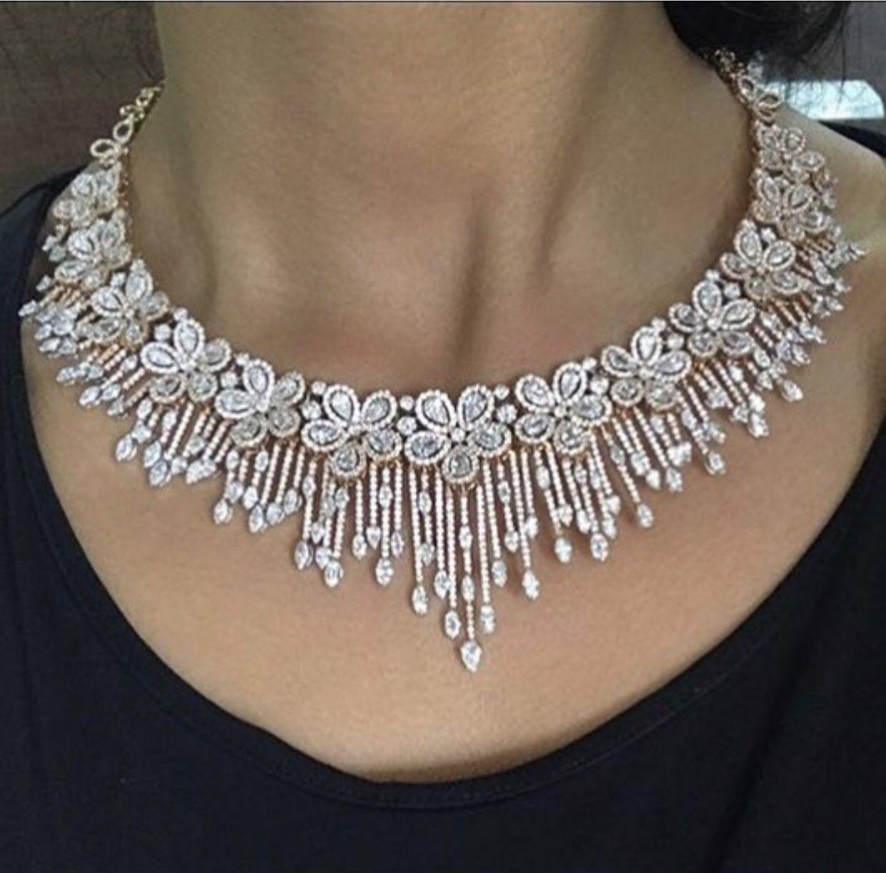 Engagement Rings Hobart: Diamond Necklace Designs By Manoj Kadel On Diamond