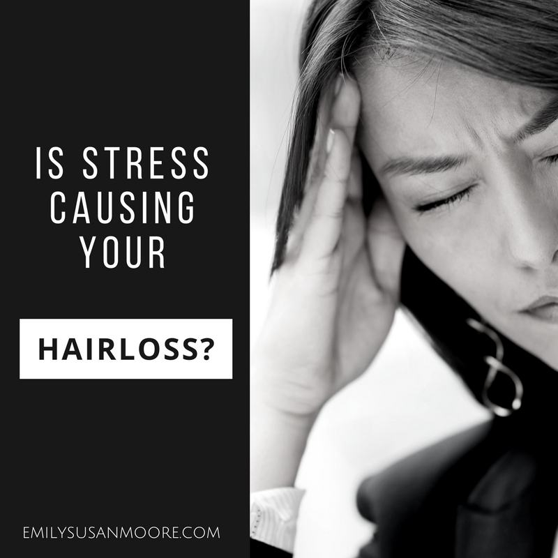 Is Stress Making You Lose Your Hair? | Fall hair, Hair ...