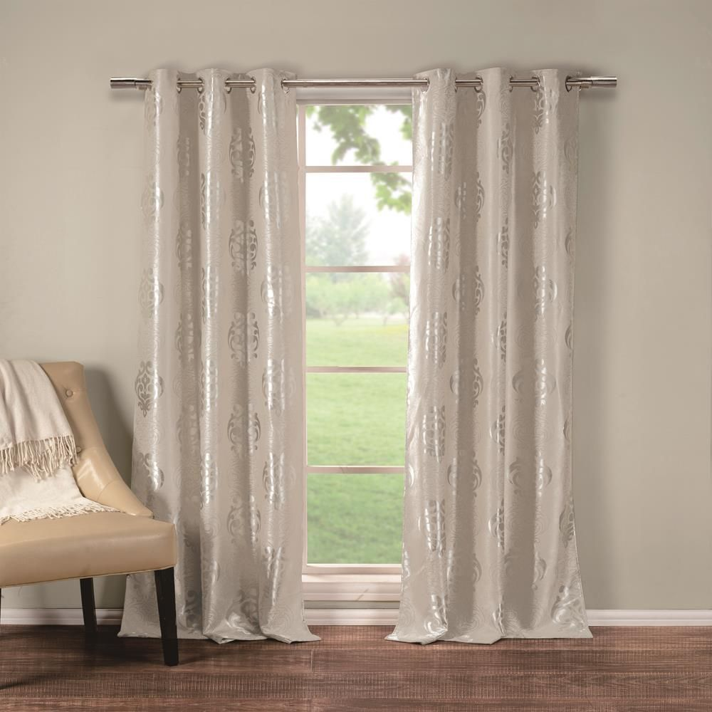 Duck River Hastings 36 In X 84 In L Polyester Blackout Curtain