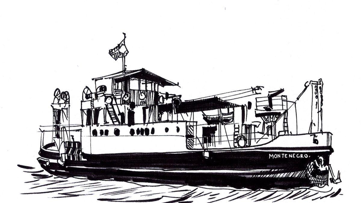 Francisco Montenegro, transbordador de la Ría de Huelva, España - Quique Maqueda