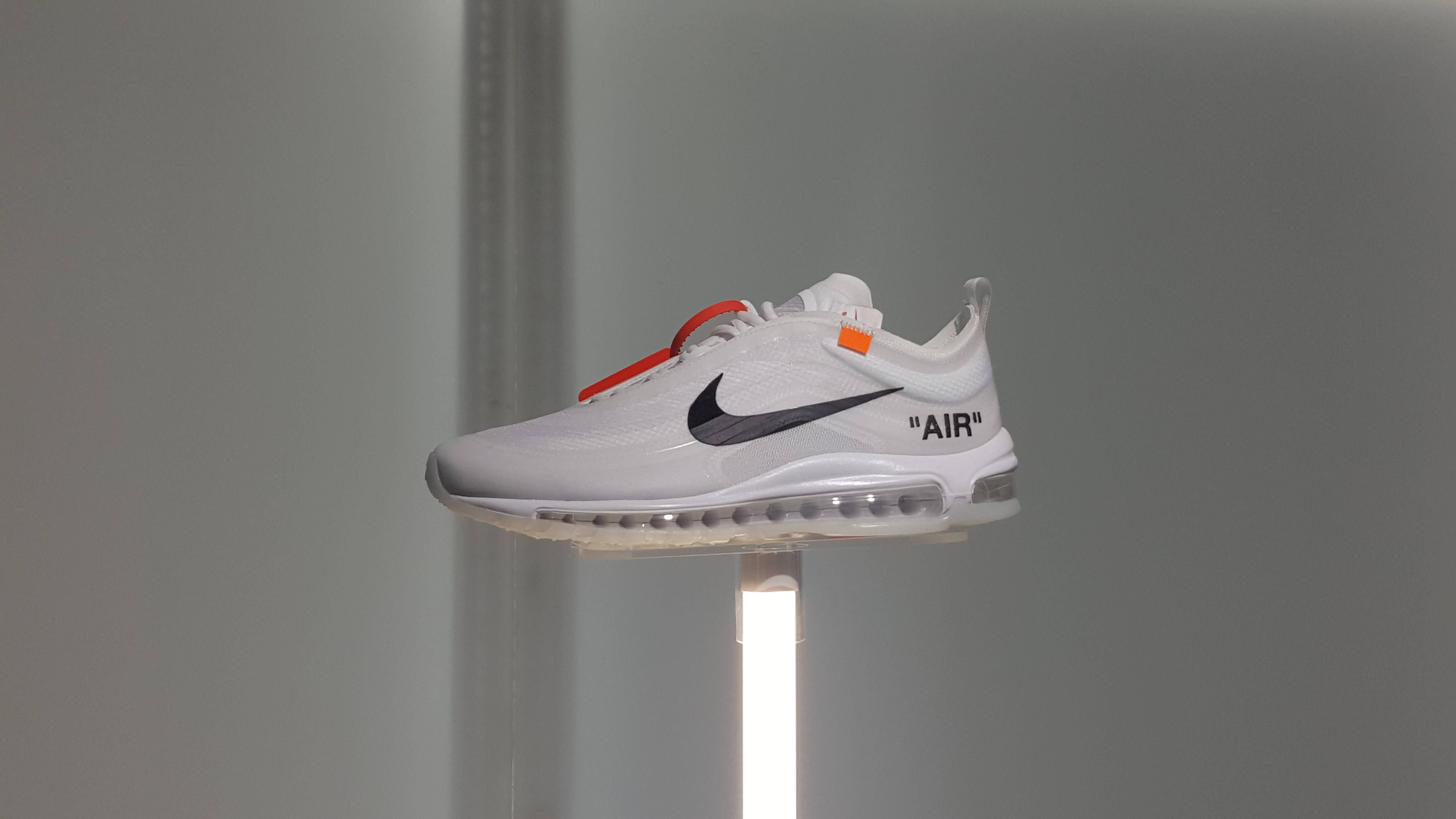 Nike/OffWhite Air Max 97 in the flesh Shoe sketches