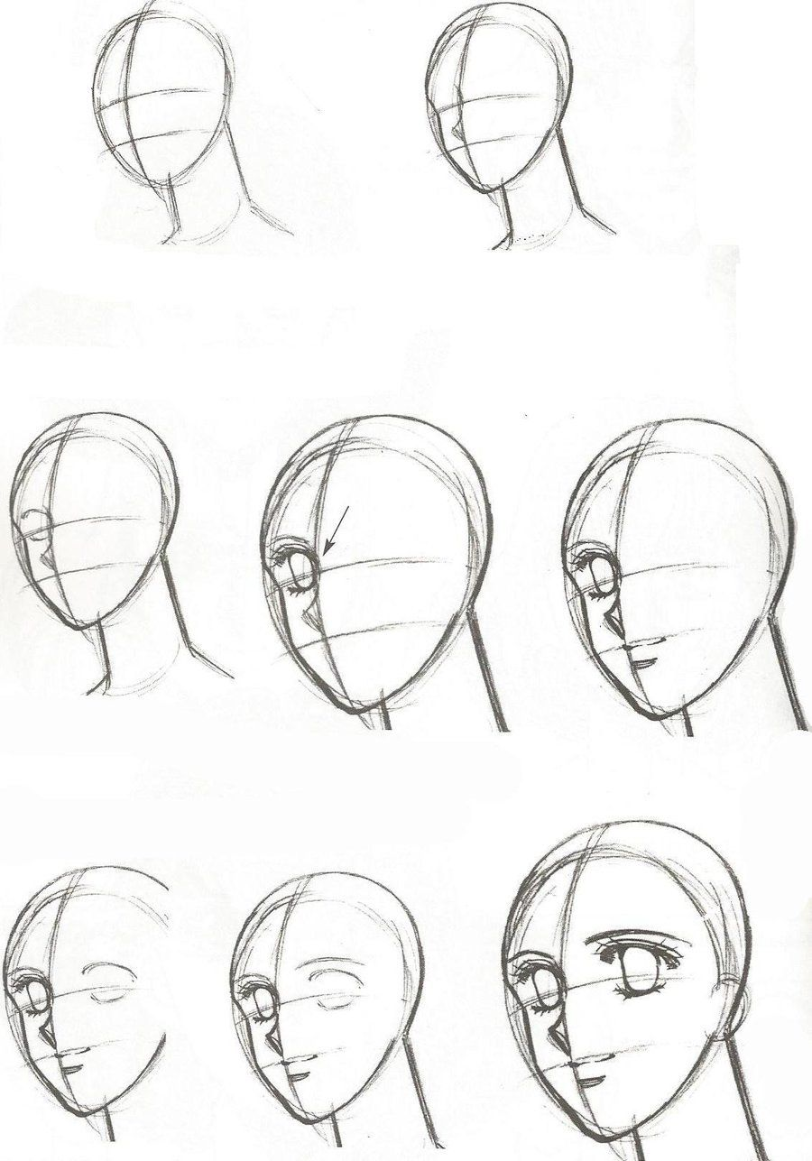 LEARN HOW TO DRAW THE HUMAN FACE ... - …