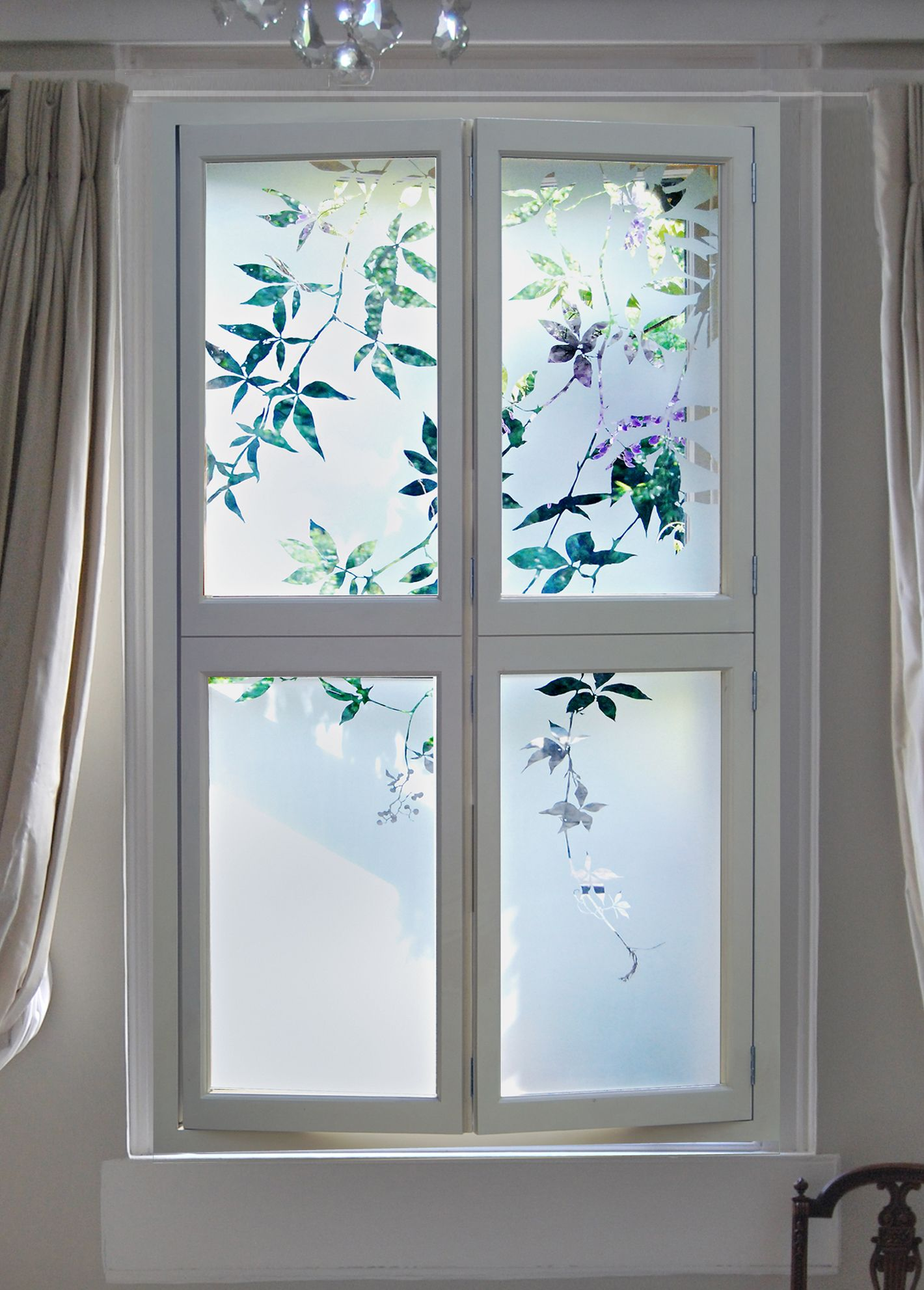 Etched Glass Shutters For Bedroom Window Glass Design Etched Glass Door Window Film Designs